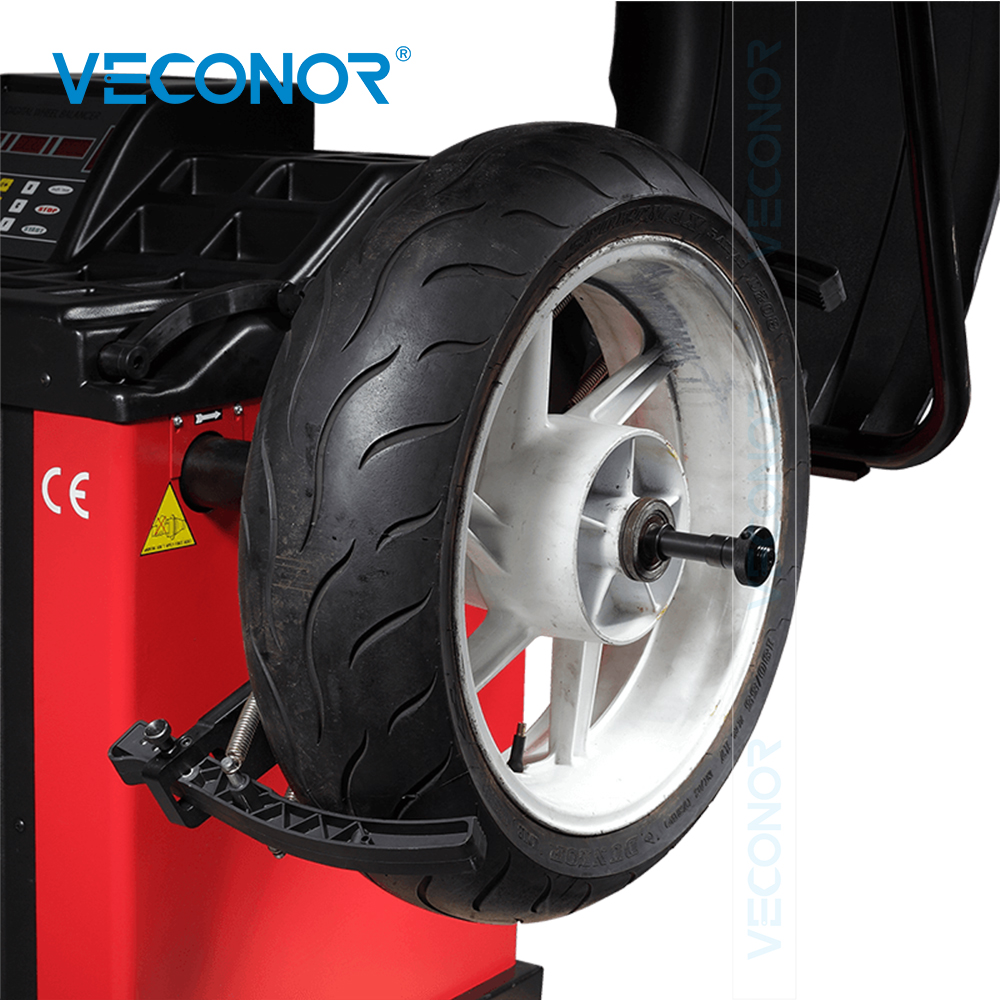 VECONOR Wheel Balancer Adaptor For Motorcycle Tire Motorcycle Tyre Adaptor For Wheel Balancer 10mm/16mm Installation Hole