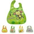 Crianças Bonitos do bebê Dos Desenhos Animados de EVA Bibs Bandana Crianças Babadores para bebês de Silicone À Prova D' Água Meninos Meninas Crianças Roupas Arroto Cuidados De Alimentação
