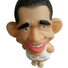 Fun Creative vent decompression Funny Toys queen screams Obama doll for Christmas Halloween birthday gift