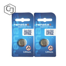 2Pcs/lot renata CR1632 CR 1632 3v Lithium Battery Remote control battery car remote battery Scales , motherboard battery(China)