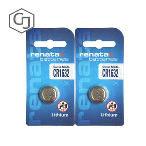 Scales Renata CR CR1632 2pcs/Lot Battery Remote-Control-Battery 3v