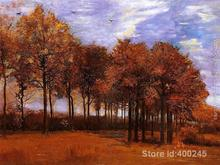 Paintings by Vincent Van Gogh Autumn Landscape wall art Hand painted High quality