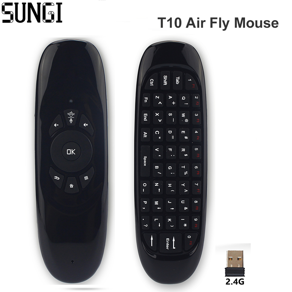 Gyroscope 24g Wireless Air Fly Mouse Remote Control With Mini Charger Battery Lithium Variable Current Up To 2a By L200 Keyboard Rechargeable For Android Tv Box Pc Smart