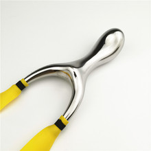 High Quality Pocket Fishing Hunting Slingshot Fishing Titanium Steel Slingshot big Promotion Qholesale Sling Shot