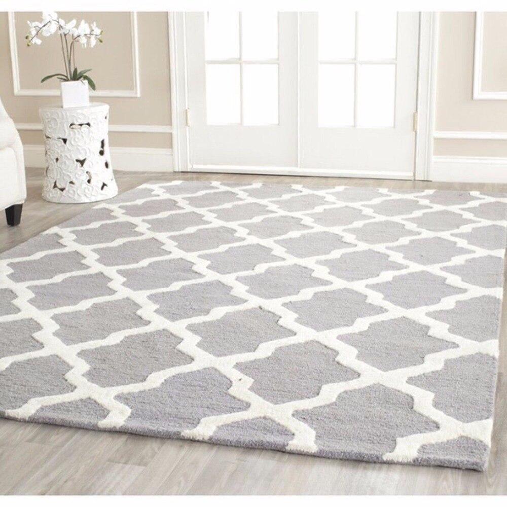 Europe du nord bref tapis pour salon doux 100% acrylique tapis et tapis pour chambre Table basse zone tapis enfants jouer tapis
