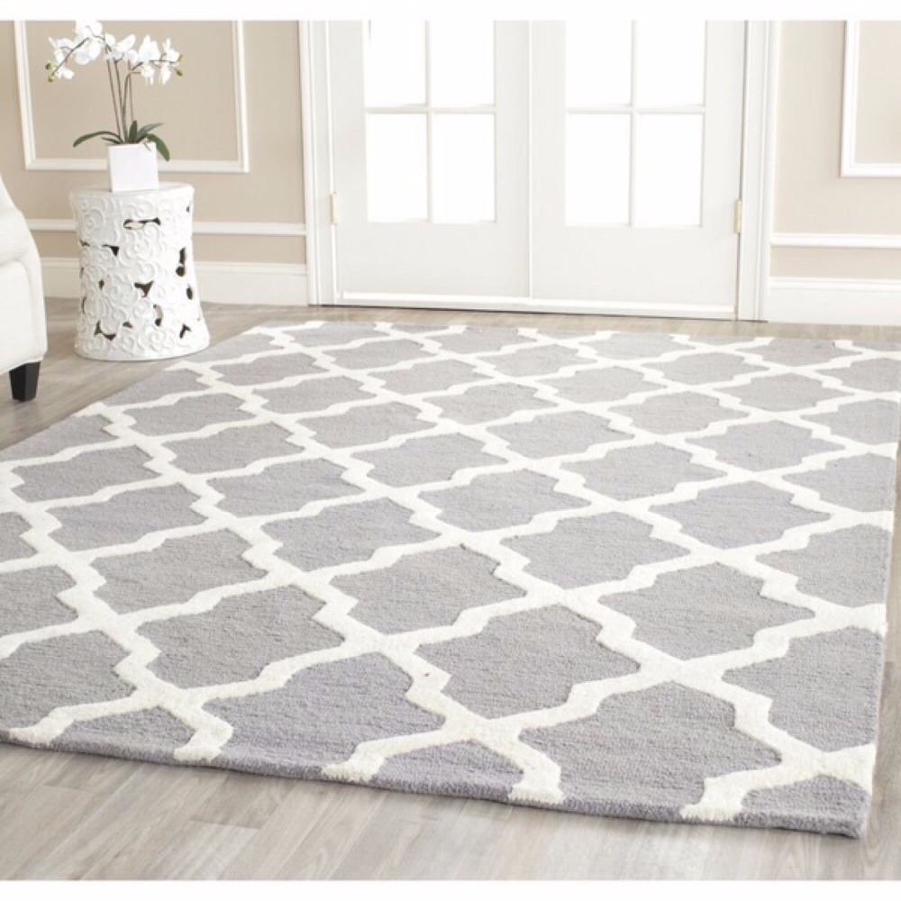 Northern Europe Brief Carpets for Living Room Soft 100% Acrylic Rugs and Carpets For Bedroom ...