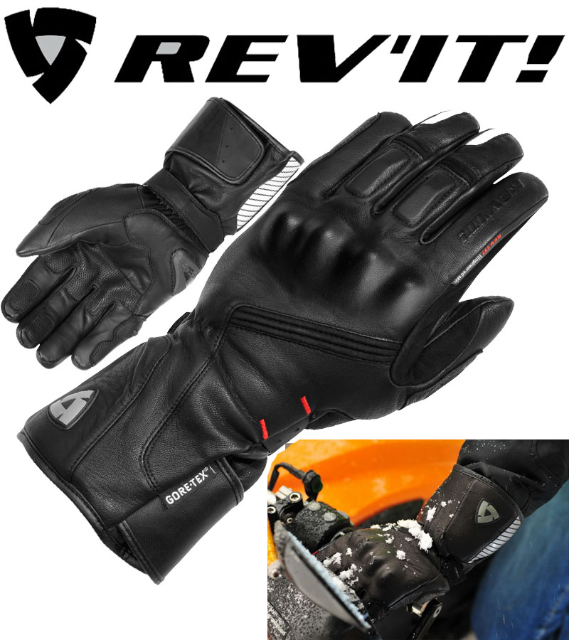 REVIT Alaska GTX men's Winter waterproof motorcycle long gloves motorbike raning moto protection glove leather motocross mittens hot sale motorcycle gloves motorbike moto luvas motociclismo para guantes motocross 01c motociclista women men racing gloves
