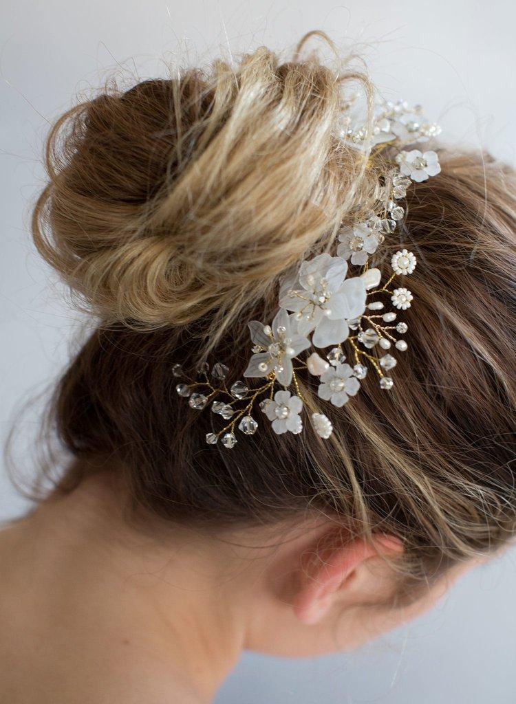 HTB1pVd.RFXXXXX_aXXXq6xXFXXXG Crystal Hair Comb Wedding Bridal Head Jewelry