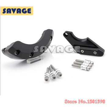 Motorcycle Left Right Side Engine Stator Case Cover Protector Slider For YAMAHA FZ-6R 2009-2013 & FZ-6N/S 2004-2009