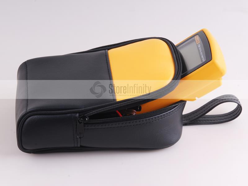 <font><b>Fluke</b></font> 15B+ Auto Range Digital <font><b>Multimeter</b></font> + Soft Carrying Case Carrier Bag Holster image