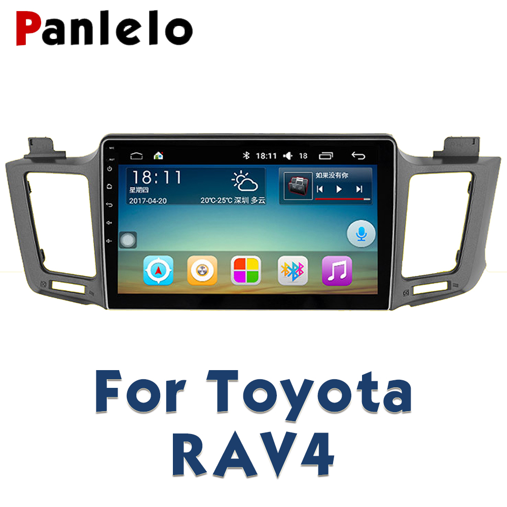 Panlelo For Toyota RAV4 Car Radio Multimedia 10.2 inch Autoradio 2din Video Player Navigation GPS Android Navigation new 10pcs vtc6 3 7v 3000mah rechargeable li ion battery 18650 for sony us18650vtc6 30a electronic cigarette toys tools flashligh