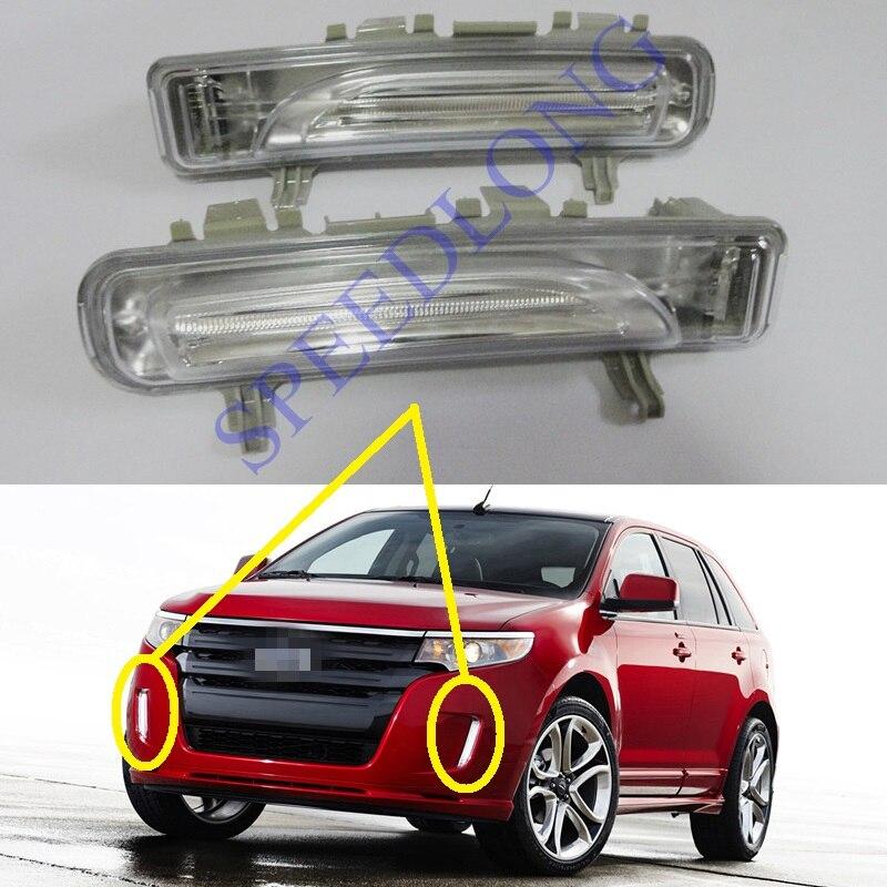 2 шт/пар Белый замена дневные ходовые огни DRL туман вождения лампы для Форд Эдж 2011-2012