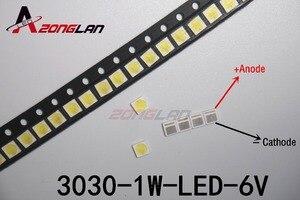 Image 3 - LED 1000pcs/LOT  Backlight High Power LED 1.8W 3030 6V Cool white 150 187LM PT30W45 V1 TV Application
