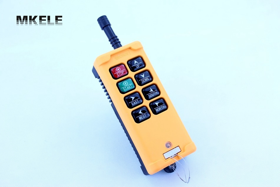 High Quality New Arrivals Crane Industrial Remote Control HS-8 Wireless Transmitter Push Button Switch China hs 10s crane industrial remote control switch hs 10s wireless transmitter switch