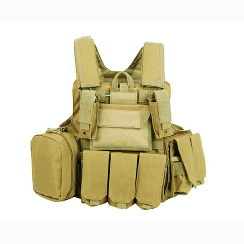 Military Modular Molle Vests Assault Vest Airsoft Combat Vests with Quick Release Magazine Pouch Walkie Talkie Acessory Bag 011604 tmc transformers cqb lbv molle vest military airsoft paintball combat assault cs field protection vest free shipping