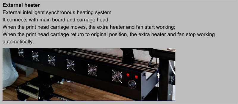 Intelligent Heating System for Pro Posters Printing Machine