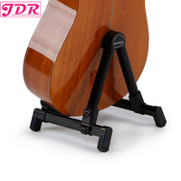 JDR Universal Portable Adjustable Folding Travel Stands Instruments Stand For Acoustic Electric Classical Guitar Bass Banjo