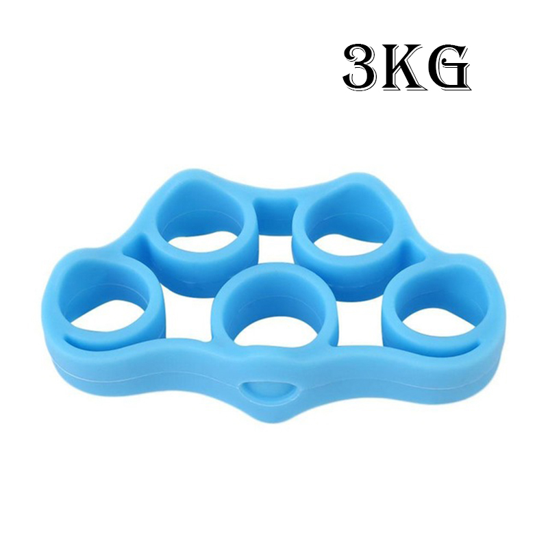 Silicone Finger Resistance Strength Trainer 8
