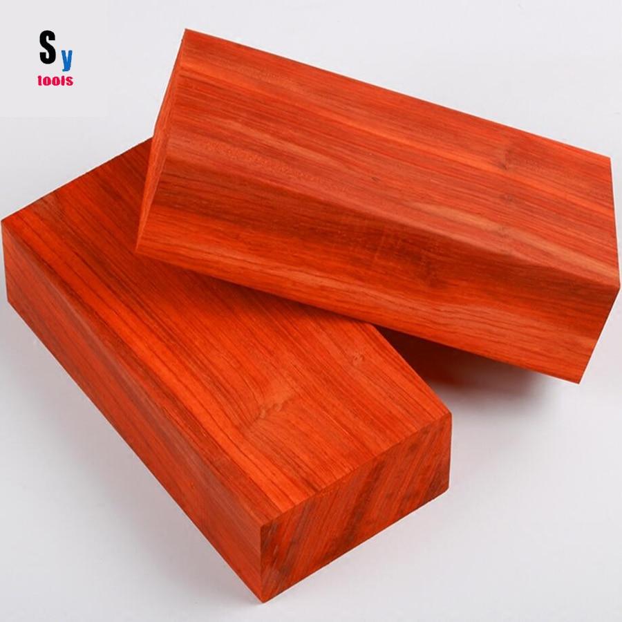 Sy инструменты ножи нож материал ручки Плотник Ремесла красный Палисандр дерево Больше размер (Нет полировки)