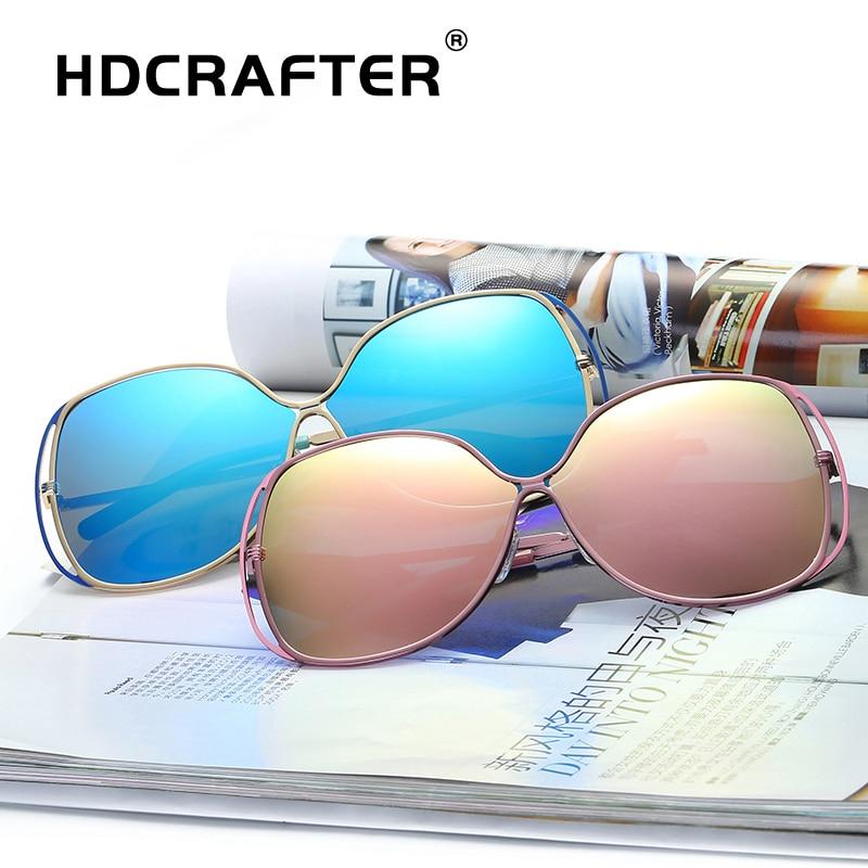 ladies sunglasses women polarized butterfly mirrored sunglasses oversized eyewear for female brand designer lentes de sol mujer