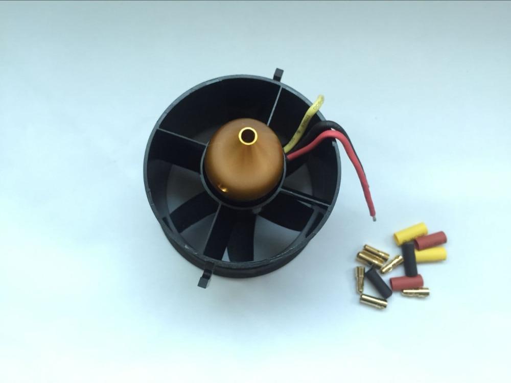 QX-MOTOR 70 мм Сменные кассеты-6 шт. импеллер EDF с 2822 3000KV бесщеточный вентилятор постоянного тока Бесщеточный для RC Самолет Модель Запчасти