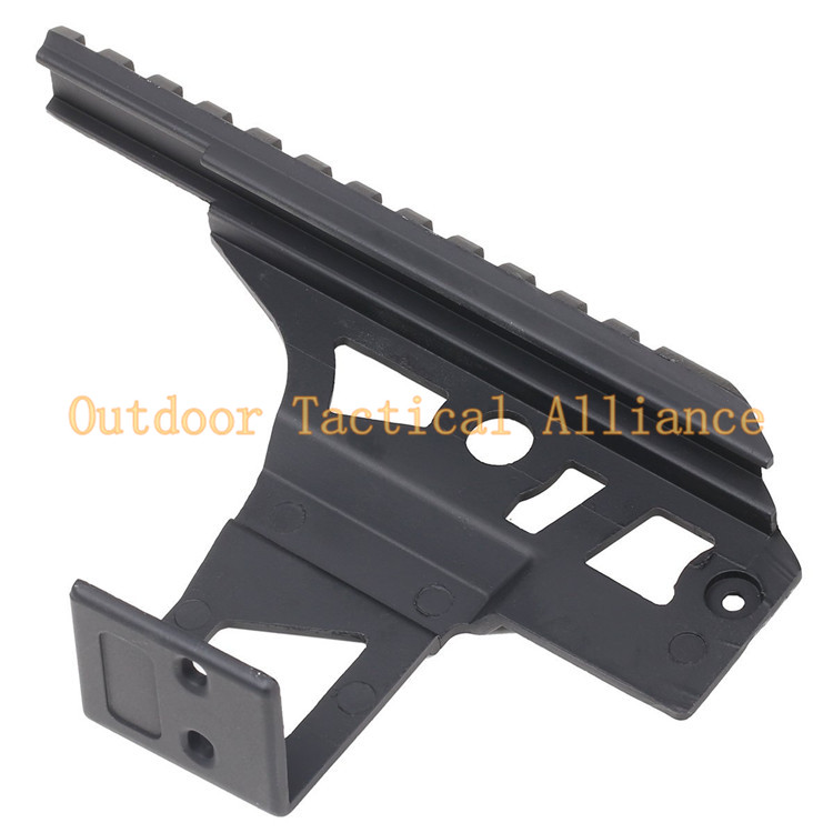 US $8 51 29% OFF|Airsoft Tactical AK47 Ris Rail Front Top Scope Mount Ris  20mm Top Weaver Rail Side Mount For Flashlight Laser Receiver Hunting-in