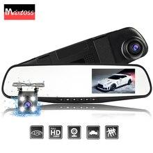 Dual Lens Videocamera per auto Auto DVR Specchio Retrovisore Dash Cam Auto Dvr Video Recorder Registrator FHD 1080 P di Visione Notturna Videocamera