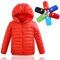 Bebê Para Baixo Casaco de Inverno 2017 Novas Crianças Casaco Crianças Casaco Quente Outerwear Jaqueta de Inverno Do Bebê Roupas Para Crianças de Espessura