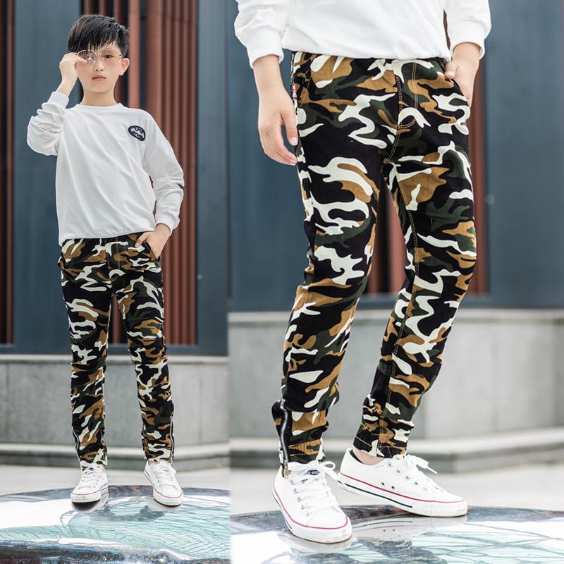 DIIMUU Children Boys Camo Cargo Trousers Casual Pants Military Army Combat Camouflage Pants Jogger Trousers Boy Sweatpants(China)