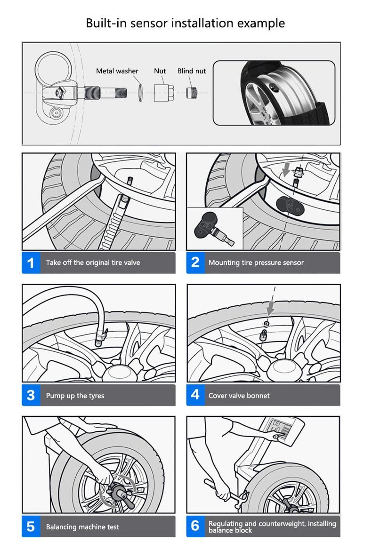 Jansite Tpms Wireless Car Tire Pressure Monitoring Intelligent Washing Machine Switch Wiring Diagram Q What Is