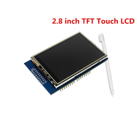 Free Shipping 2.8 inch TFT Touch LCD Screen Display Module for arduino Compatible with UNO MEGA 2560