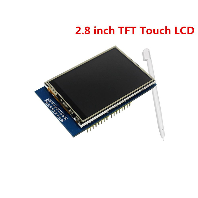 2.8″ TFT Touch Screen LCD Display Module Shield for Arduino UNO and MEGA