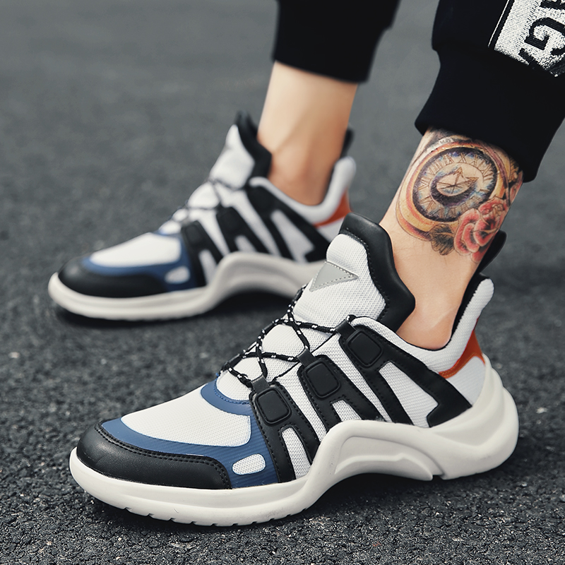 Hommes chaussures Sport course chaussures pas cher 2018 marque baskets blanc chaussures Zapatillas Hombre Deportiva respirant Masculino Esportivo