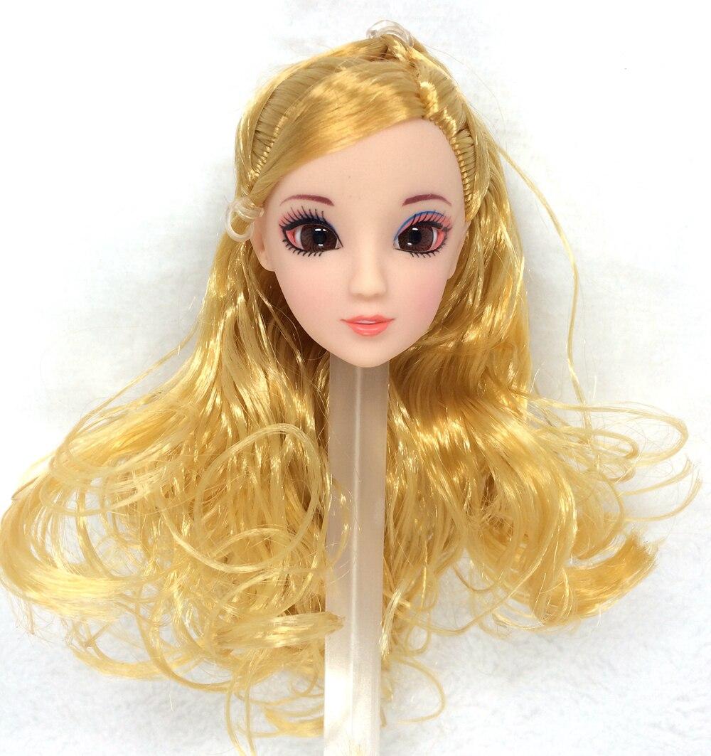 NK One Pcs אופנה ראש בובה עיניים - בובות ואביזרים