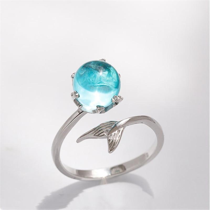 Женское кольцо с серебряным покрытием ZN, регулируемое кольцо для свадьбы, помолвки, ювелирные изделия, индивидуальный дизайн