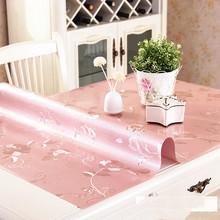 PVC Tablecloth Home Textile Kitchen-Pattern Waterproof with Soft