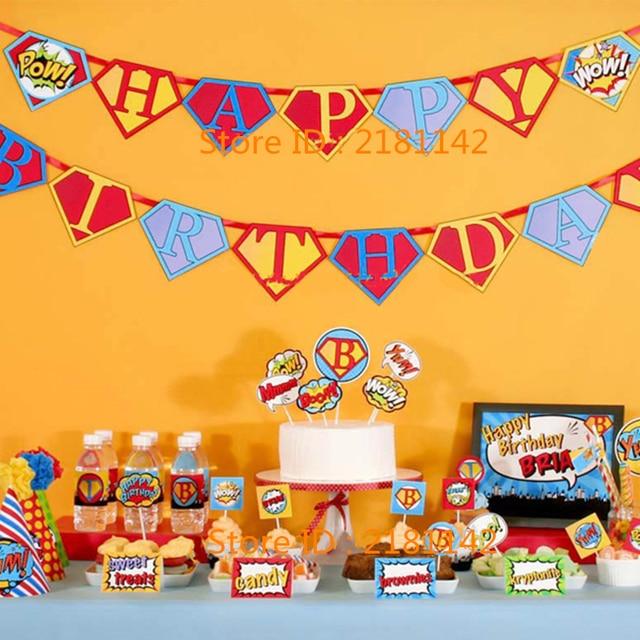 superhero fiesta temtica set supply superman returns familia la fiesta de cumpleaos del cabrito cosplay with fiestas de cumpleaos tematicas