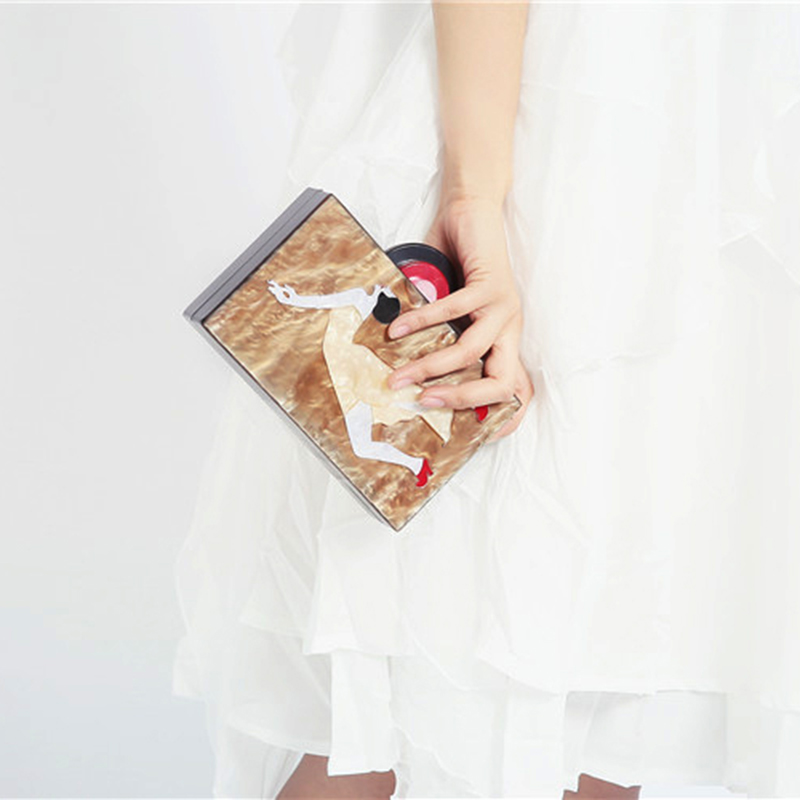 Charaters Purse Evening Male Envelope Wedding Vintage Patter Designer Clutch Famous Brand Women Clutches Acrylic Clutch Purse mz15 mz17 mz20 mz30 mz35 mz40 mz45 mz50 mz60 mz70 one way clutches sprag bearings overrunning clutch cam clutch reducers clutch