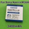 Novo chegou 3400 mah bateria para sony xperia zr m36h ba950 so-04e xperia v c5502 xperia a c5503 ab-0300
