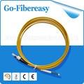 5pcs/lot 1M LC-FC fiber optical patch cord/cable Single mode Simplex 3.0mm PVC