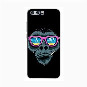 Image 4 - Voor Huawei Honor 9 Case Zachte Siliconen TPU Back Cover Voor Huawei Honor 9 Telefoon Gevallen 3D Leuke Kat Shell voor Honor 9 Lite Case Tassen