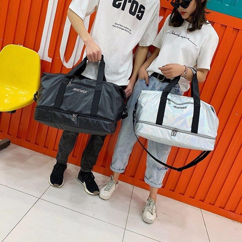 Duffle-Bags Travel-Bag Hand-Luggage Malas-De-Viagem Multifunctional Large-Capacity Women