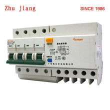 Electronic circute breaker DZ47LE 4P 63A with earth leakage protection