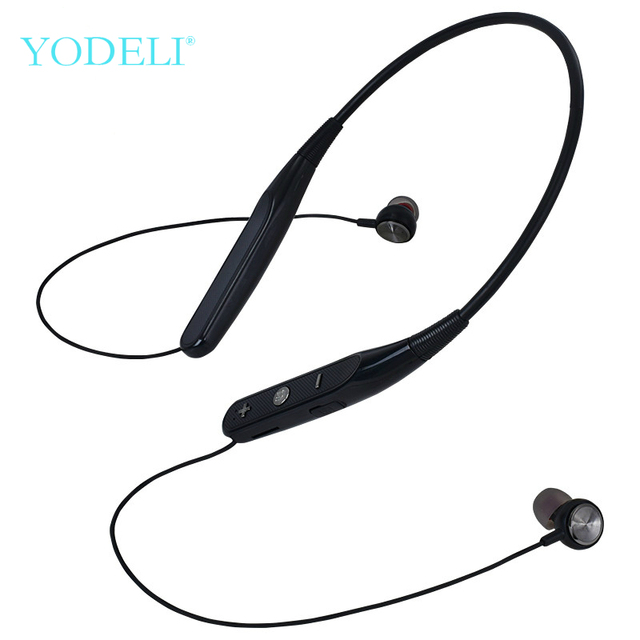 YODELI 733 Bluetooth Earphone Sport Wireless Headphones Support TF Card Handsfree Headset with Mic for Xiaomi iPhone Phone