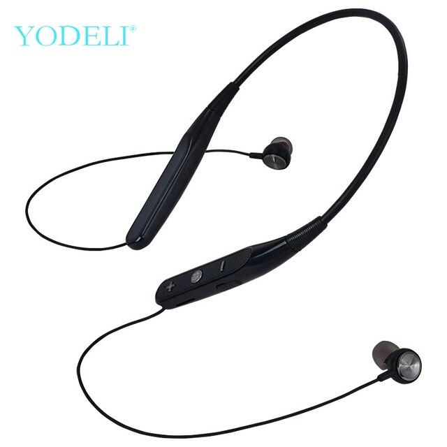 YODELI 733 Bluetooth słuchawki bezprzewodowe słuchawki sportowe wsparcie TF karty bezobsługowy zestaw słuchawkowy z mikrofonem do telefonu iPhone Xiaomi