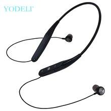YODELI 733 auriculares Bluetooth deporte auriculares inalámbricos soporte TF tarjeta manos libres auriculares con micrófono para teléfono iPhone Xiaomi