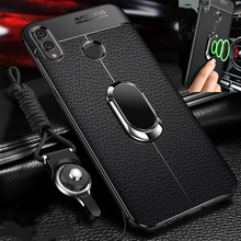 Honor 8X Case For Huawei Cover Max lite soft magnet car ring holder Back Honor8