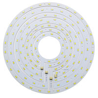 Round LED Ceiling Light Panel Board 12W 15W 18W 24W SMD 5730 Ring Magnetic Lamp Plate