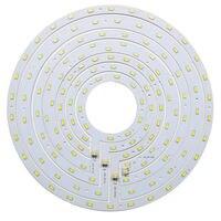 Круглый светодиодный потолочная панель света доска 12 Вт 15 Вт 18 Вт 24 Вт SMD 5730 кольцо магнитная лампа пластина белый/теплый белый с магнитом от...