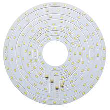 העגול LED פנל תקרת אור לוח 12 W 15 W 18 W 24 W SMD 5730 טבעת מגנטי צלחת מנורה לבן/לבן חם עם מגנט